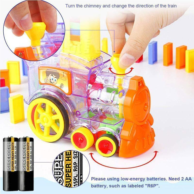 Domino Train For Childen(Buy 2 For Free Shipping)