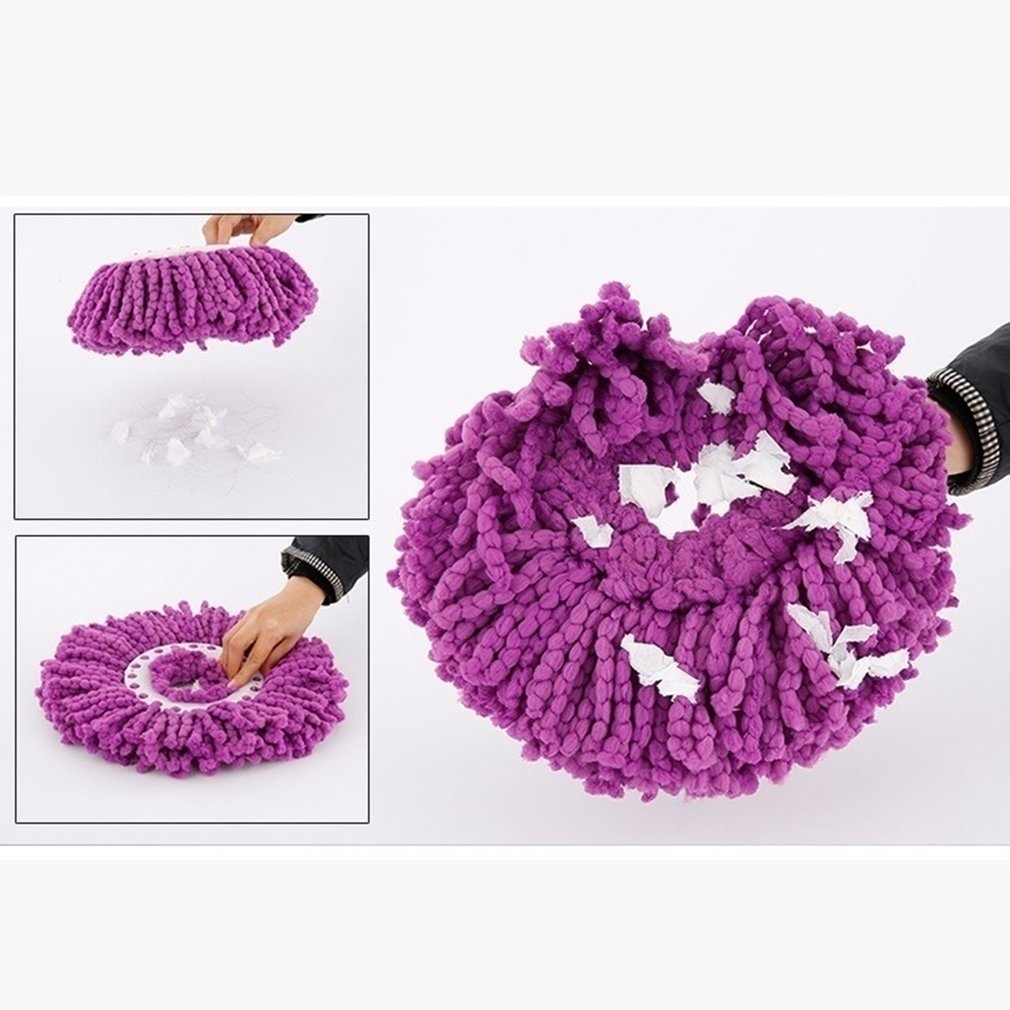 Easy Magic practical Design Floor Mop 360 Degree Bucket Replace Microfiber Spin Replace Rotating Mop Head