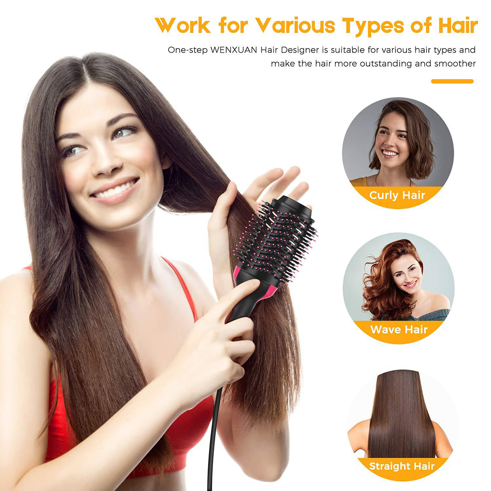 (LAST DAY 50% OFF ) Multifunction - 2 IN 1 ONE-STEP HAIR DRYER & VOLUMIZER