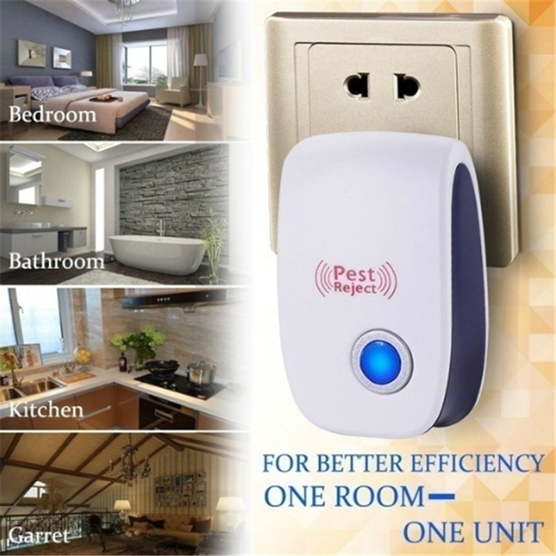 1/2/4 PCS Ultrasonic Repeller Indoor Plug In Pest Control For Insects