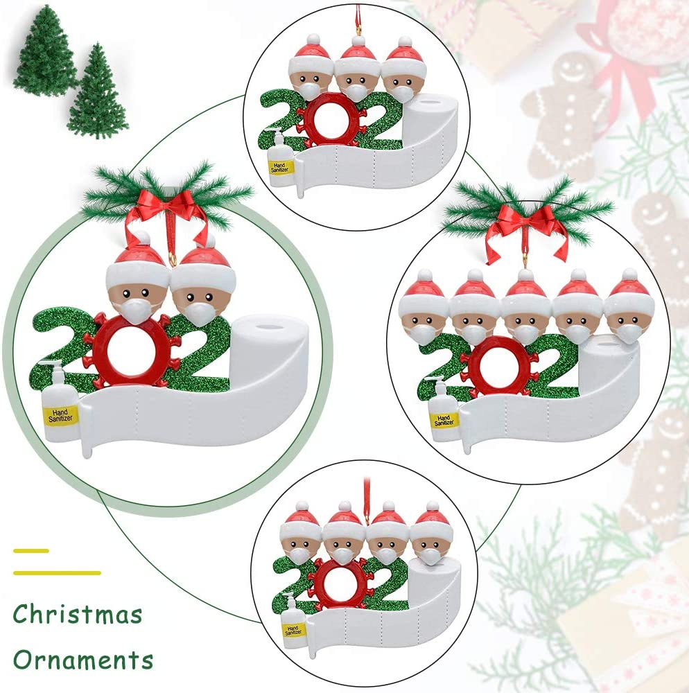 2020 Dated Christmas PET Ornament