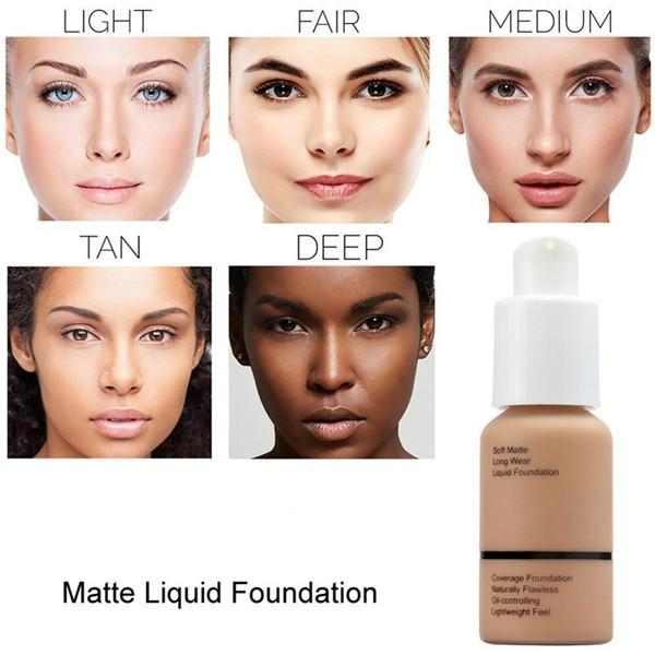 (💋BUY 2 SAVE 15% OFF💋) Flawless Matte Liquid Foundation