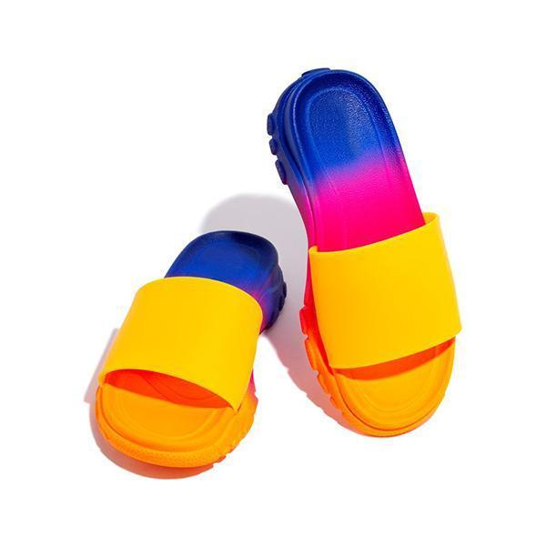 Upawear Padded Insole Multi-Color Slippers