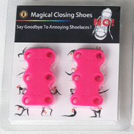 iBoyce Magnetic Shoelaces Closures with Strong Magnets/Permanently available