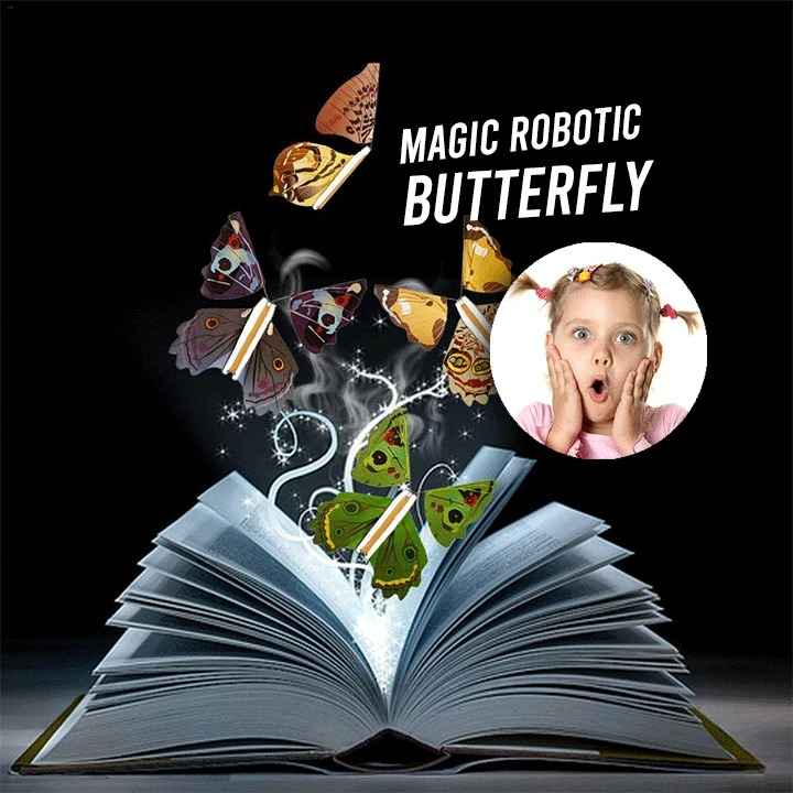 (New Year Sale- Save 48% OFF)- Magic Butterfly Flying Card Toy(Buy 20 Free Shipping)
