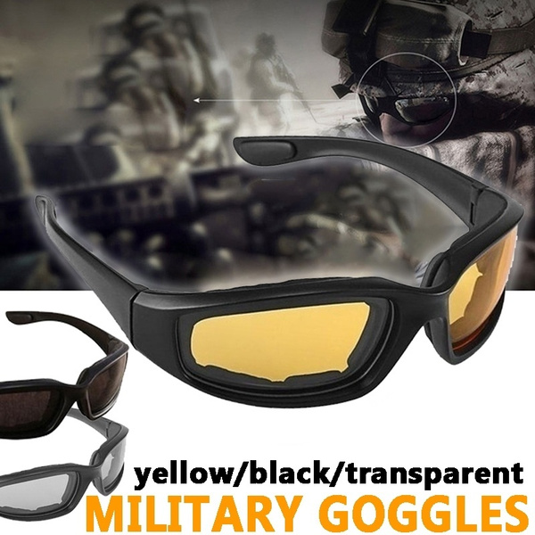 Military Motorcycle Glasses Army Polarized Sunglasses for Hunting Shooting Airsoft EyewearMen Eye Protection Windproof Moto Goggles