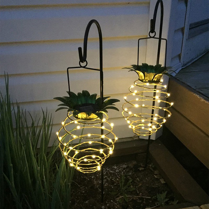 🌟Christmas Hot Sales🌟Solar Pineapple Hanging Lantern
