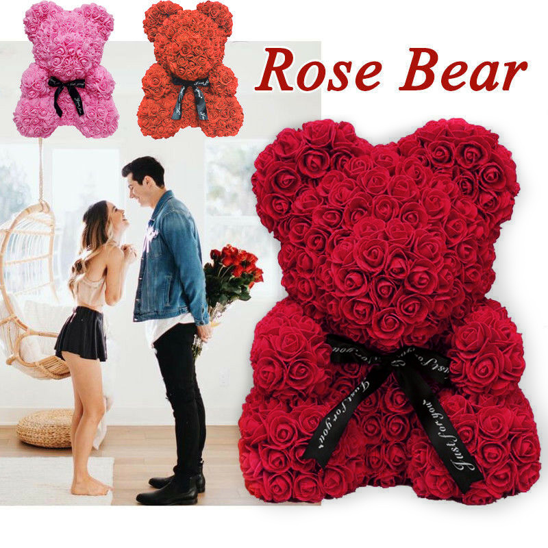 💋BEST GIFT 2021!🎁--THE LUXURY ROSE TEDDY BEAR