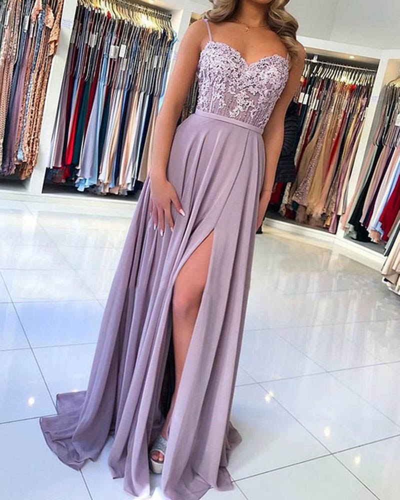 Sexy Off-the-shoulder Sling Evening Maxi Dress