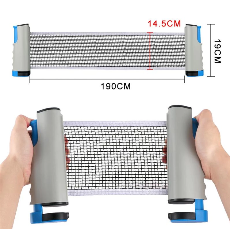 (New Year Promotion- SAVE 50% OFF) Retractable Table Tennis Net -Buy 2 Free Shipping