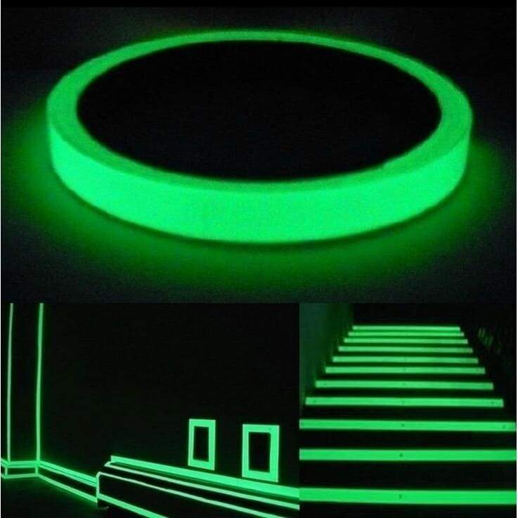 3M/5M/10M/Roll Luminous Tape Self-adhesive Glow In The Dark Safety Stage Home Decorations Warning Tape