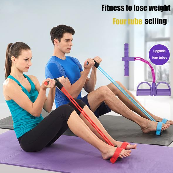 BUY 2 FREE SHIPPING🔥Yoga Resistance Bands, Elastic Sit Up Rope