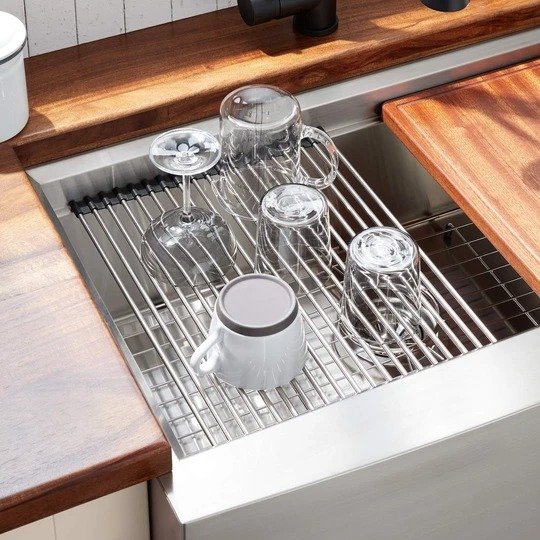 (New Year's Promo-50% OFF) ROLL-UP SINK RACK🔥 🔥 Buy 2 Get 1 Free &Free Shipping