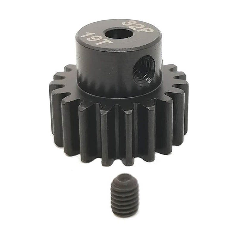 5 Pack Hardened Pinion Gear 0.2 inch Hole 15T 17T 19T 32P 32DP