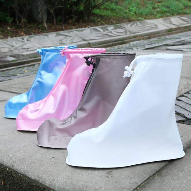 iBoyce Portable rain shoe cover Non-slip, zipper and elastic