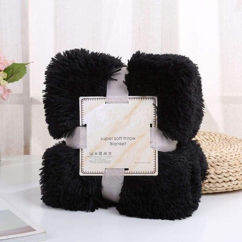 2019 Super Soft Long Fur Throw Blanket Faux Fur Warm Plush Cozy Couch Blanket Suitable for Bed Chair or Sofa