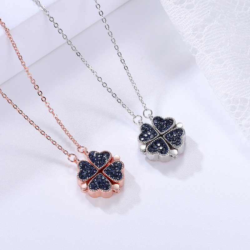 2-in-1 Lucky heart necklace