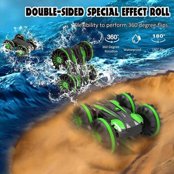 Amphibious waterproof Remote Control Car