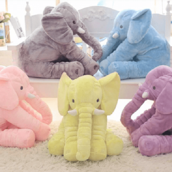 Adorable Elephant Plush Toy Pillow Toy