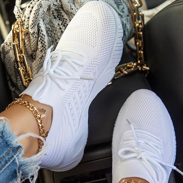 Zoeyootd Women Lightly Slip-On Sneakers