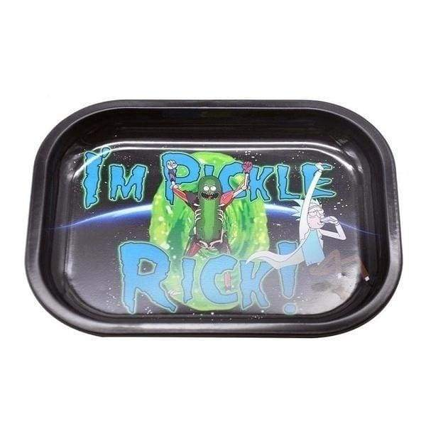 Metal Tobacco Cigarette Rolling Tray Essential Smoking Holder Trays Smoke Accessories