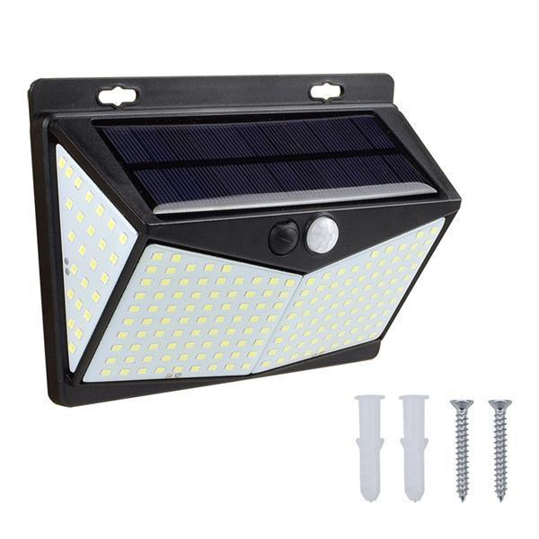 208 LED Solar Power Light PIR Motion Sensor Security Outdoor Garden Wall Lamp [Delivery in 5-10 days]