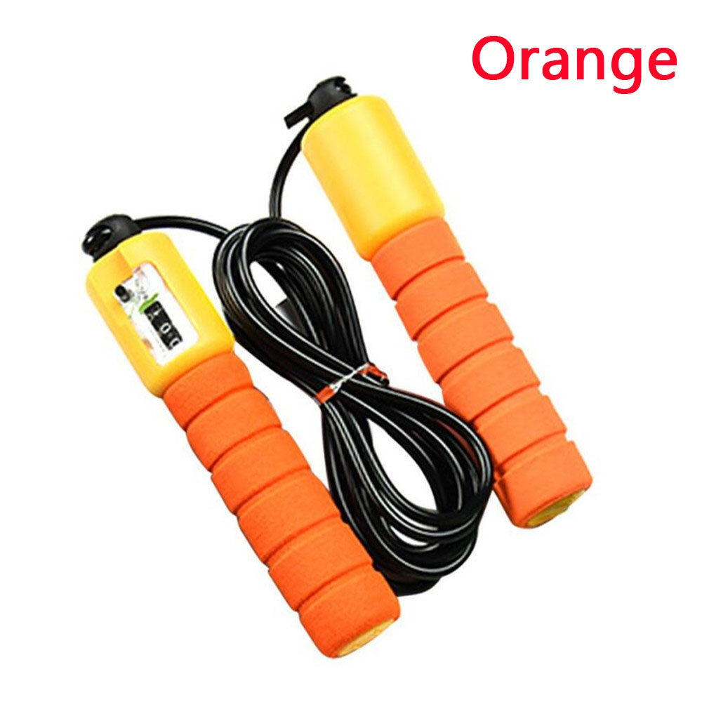 Professional Counting Skipping Sports Fitness Adjustable Fast Speed  Jump Ropes
