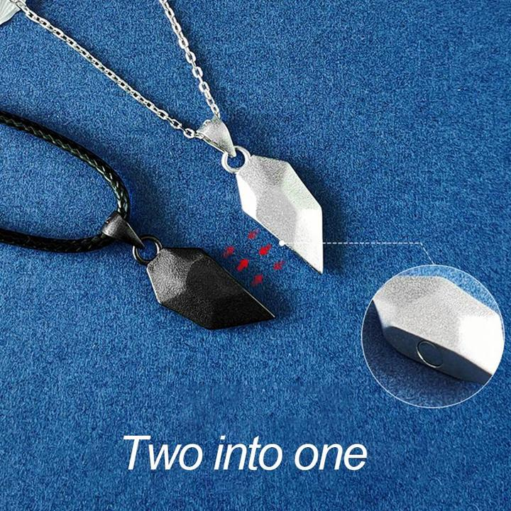 Two Souls One Heart Necklace