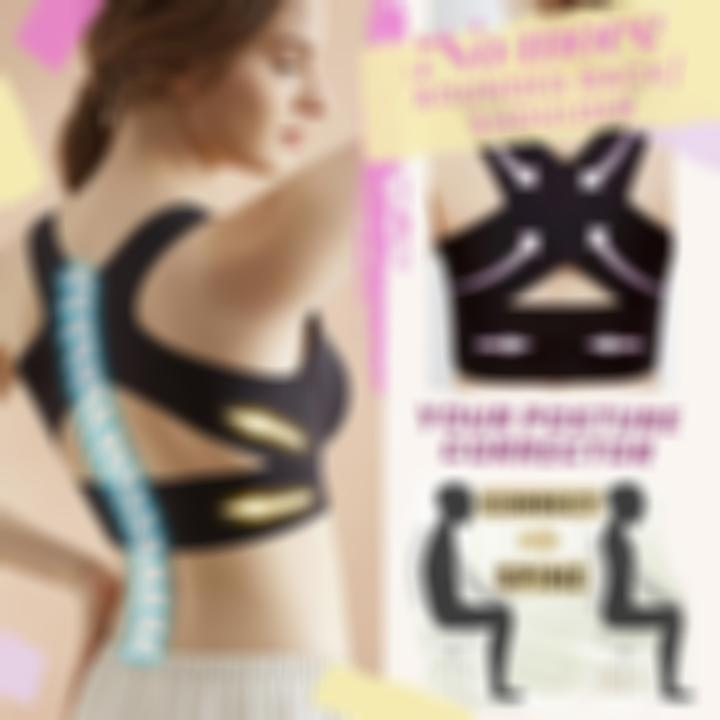 Seamless Front Buckle Support Bra
