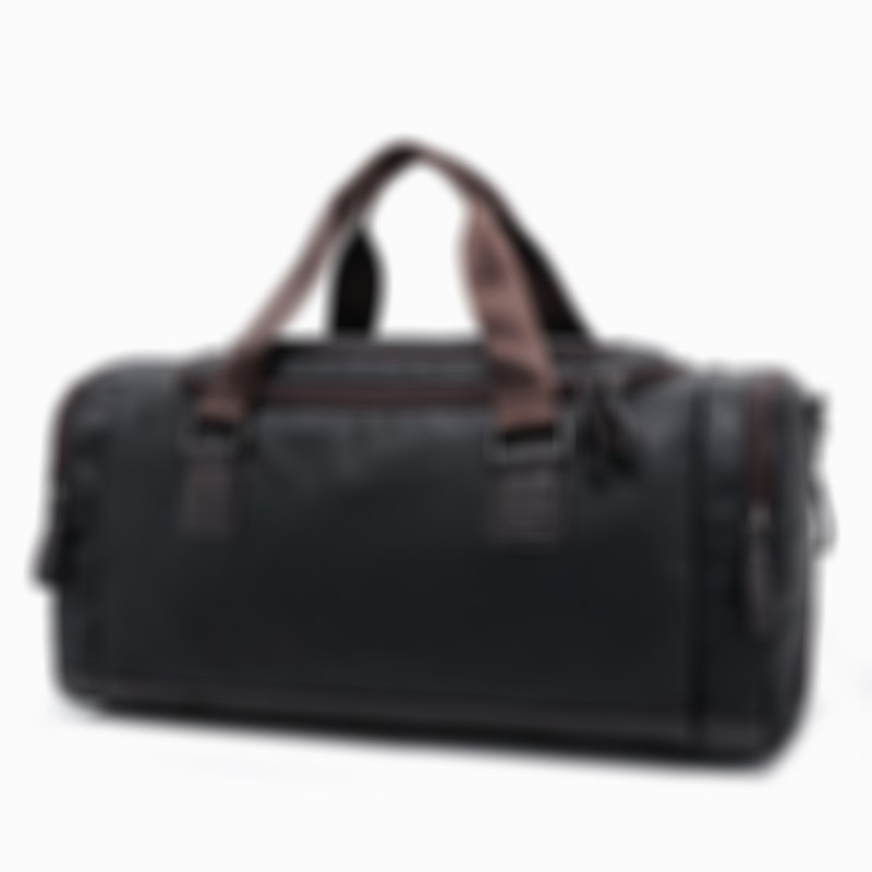 2020 New Casual Genuine Leather Travel Duffel Bag