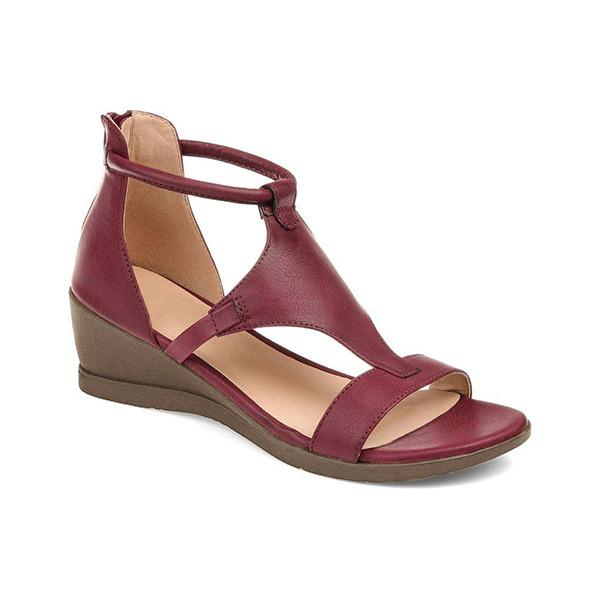 Bonnieshoes Women Casual Daily Wedge Sandals