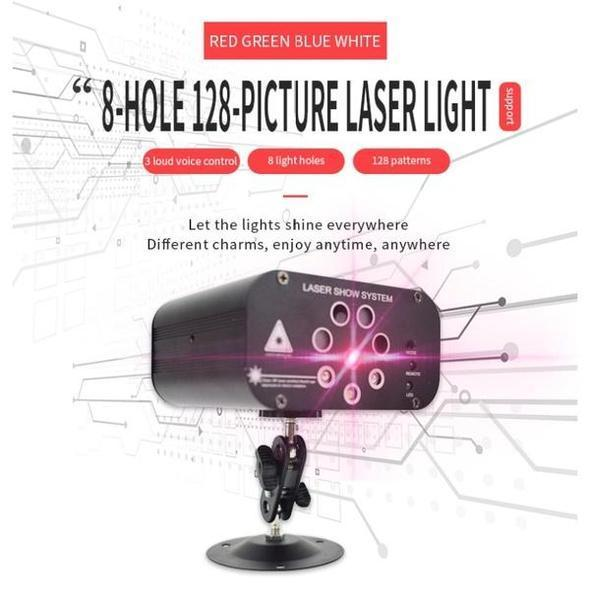LED Stage Laser Projector Light