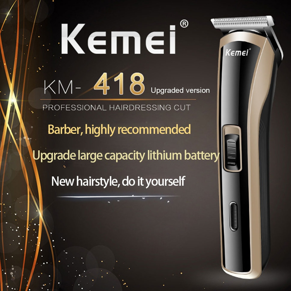 New Hot Professional Electric Hair Clipper Hair Trimmer Cutting For UK/US/EU