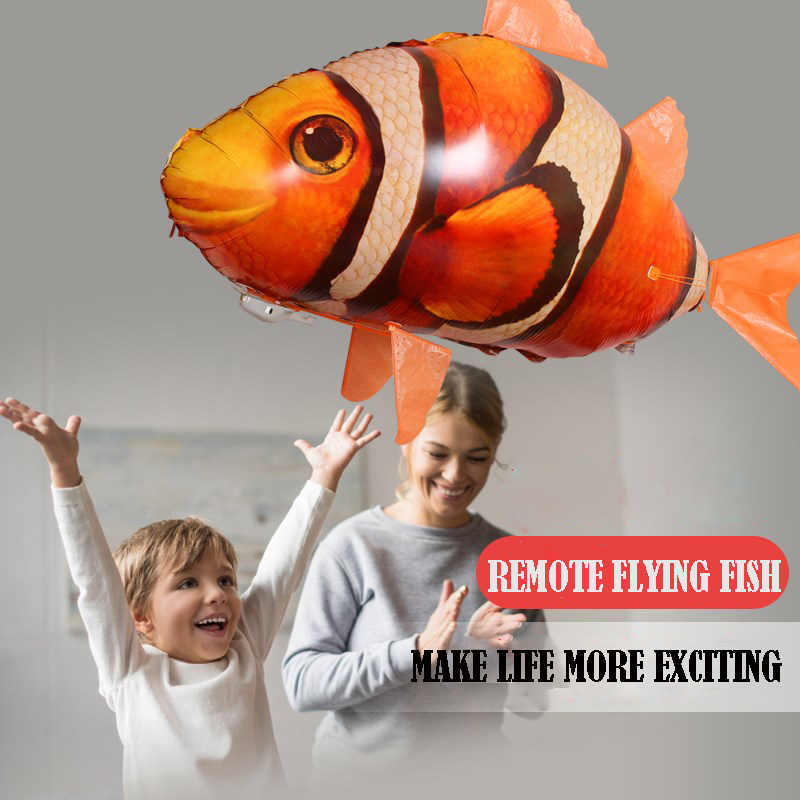🎉BUY 2 FREE SHIPPING🎉The Remote Controlled Fish Blimp