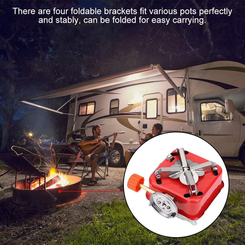 🎄Christmas sale🔥50%0FF🔥-Windproof Foldable Stove Burner