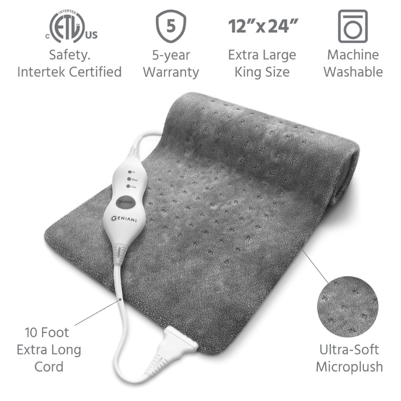 Extra Large Electric Heating Pad for Back Pain and Cramps Relief(free shipping)