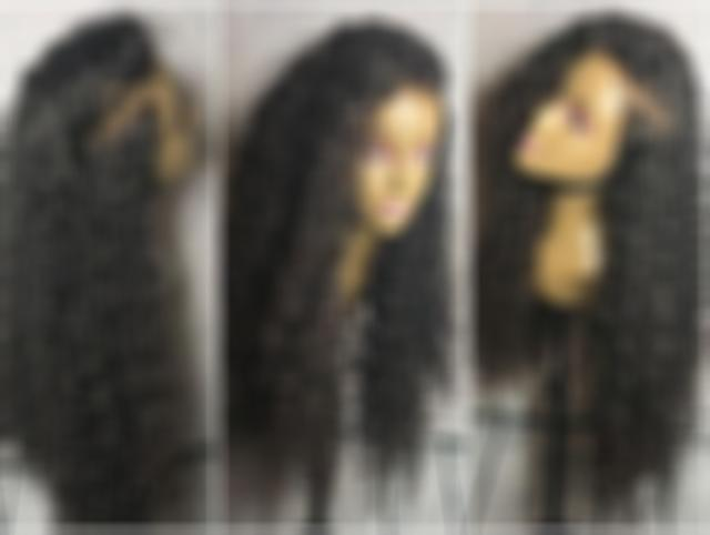 Lace Front Wigs Black Hair straight black long hair black wigs curly wigs