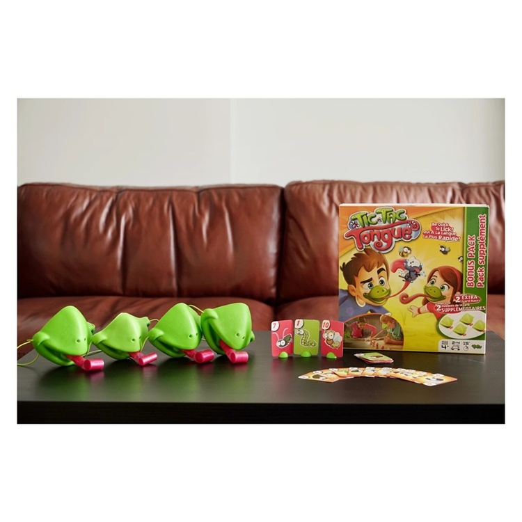 【Holiday Specials-50% OFF】Tic Tac Tongue - Children's play board game