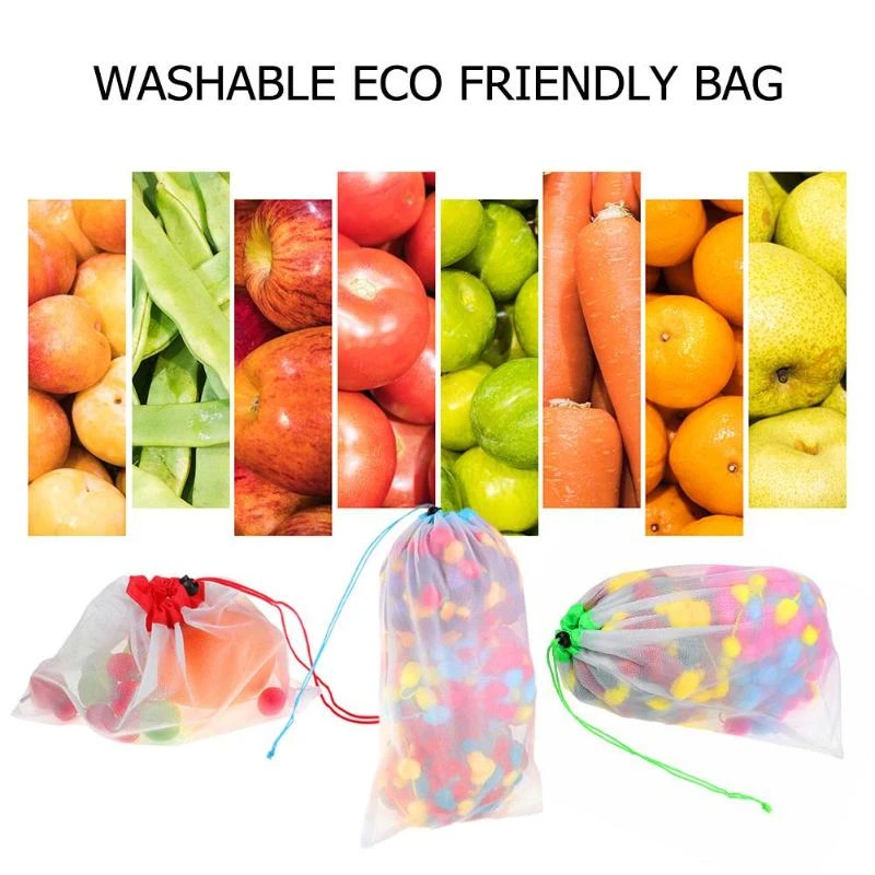 💥40% off Christmas sale💥Reusable Produce Bags (12pcs)