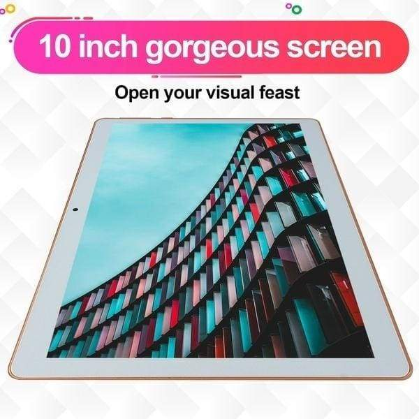 2020NEW Tablets 10.1 Inch Andoid8.0 Tablets with 8+512GB Large Memory Tablet MTK6592 Dual SIM Card Phone 4G Call Wifi Tablets PC