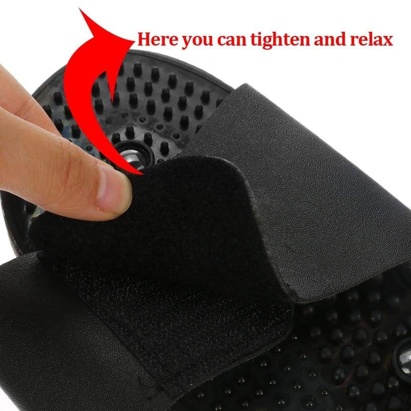 2019 New Upgrade Electronics Body Slimming Pulse Massage Muscle Pain Relax Therapy Machine with Massage Slippers 8 Massage Pad