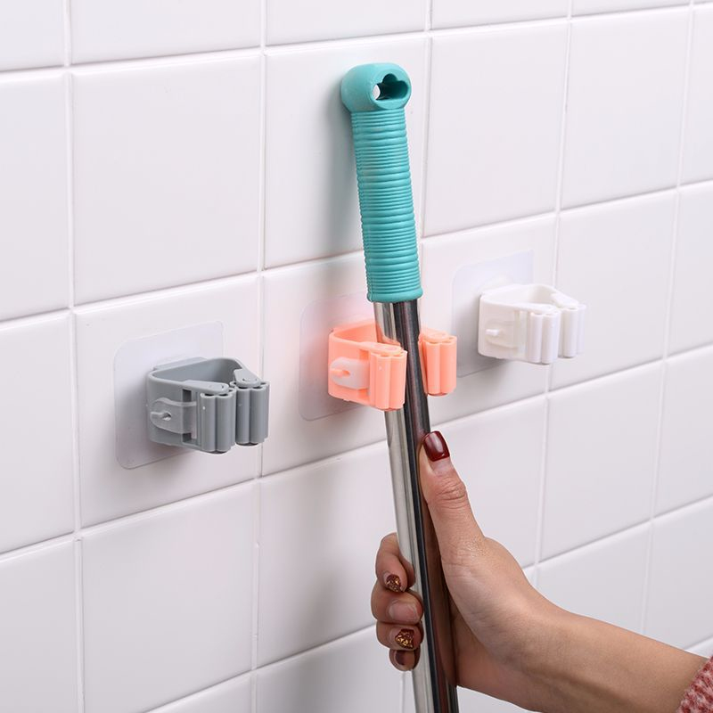 (New Year's Promo-50% OFF) Wall Mounted Mop Organizer-Buy 6 Get 4 FREE & FREE SHIPPING