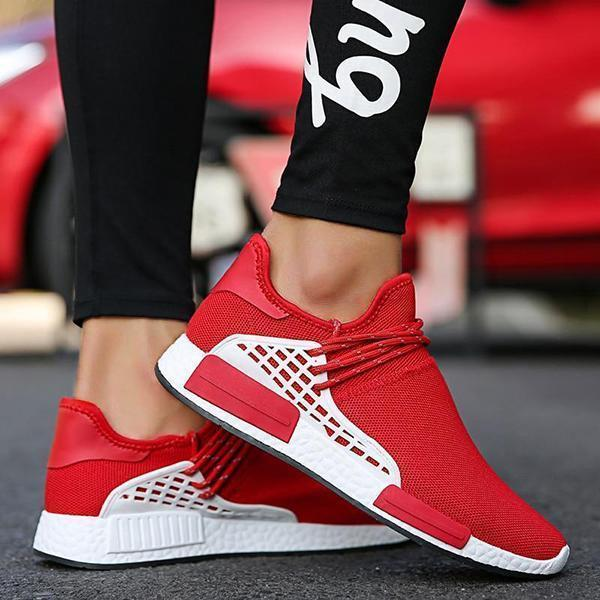 Bonnieshoes Fashion Design Breathable Air Mesh Slip On Sock Sneakers