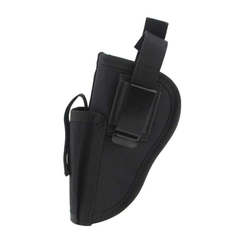 1PC Tactical Gun Holster Magazine Slot EDC Right Left Interchangeable Holder Pouch