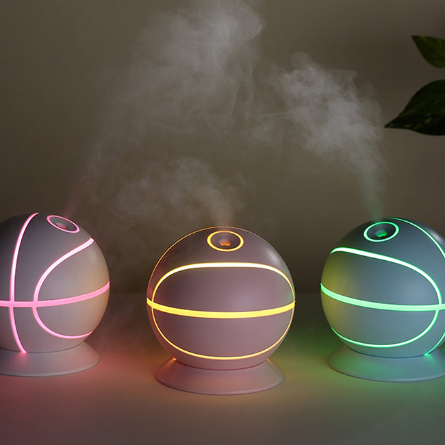 Electric ultrasonic basketball diffuser