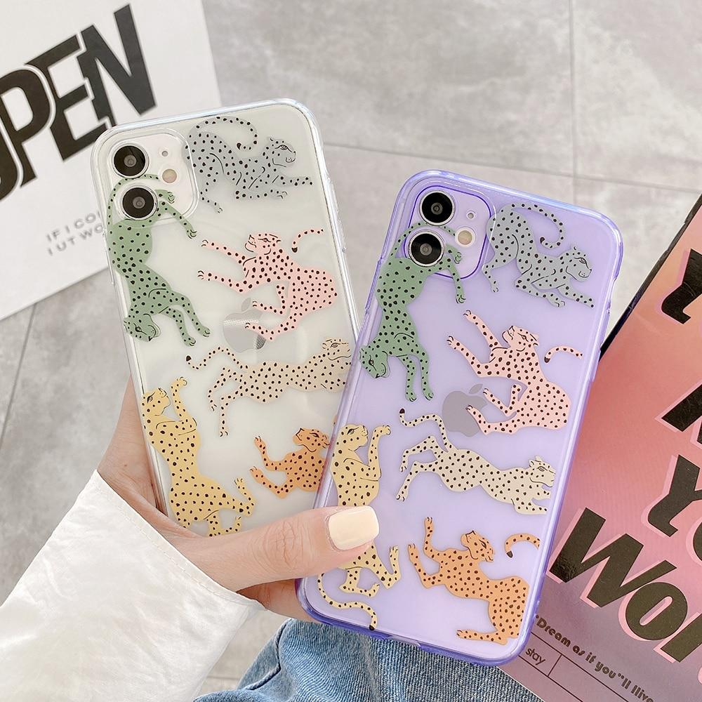 Clear Leopard Case