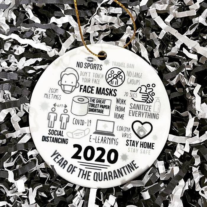 2020 Christmas Ornament - Pandemic Ornament