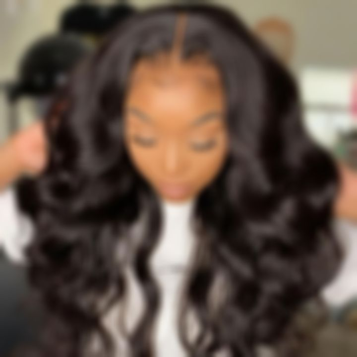 Lace Front Wigs Black Hair long hair wave wigs for black woen