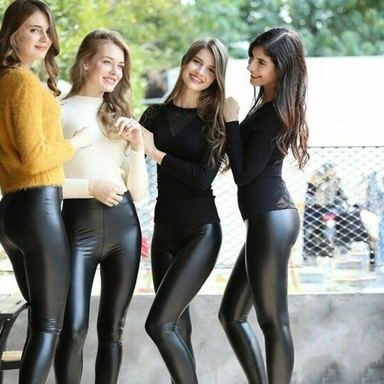 Tight stretch and warm leather leggings-BUY 2 FREE SHIPPING