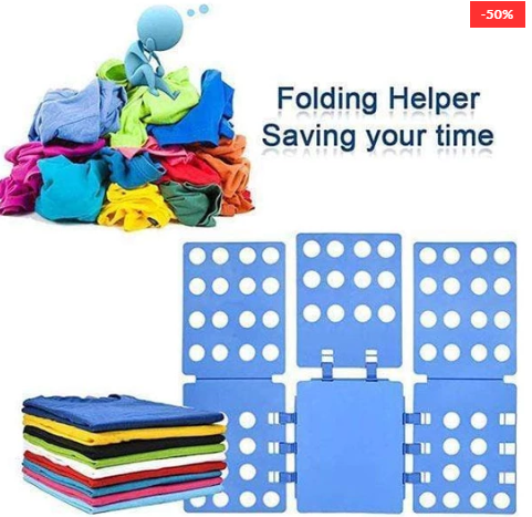 (Factory Outlet)-Magic Lazy Clothes Folding Board+Buy 2 Free Shipping